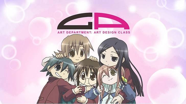 「GA 芸術科アートデザインクラス」の個性的なアート好き女子たちは、絵よりお喋りが大好き!