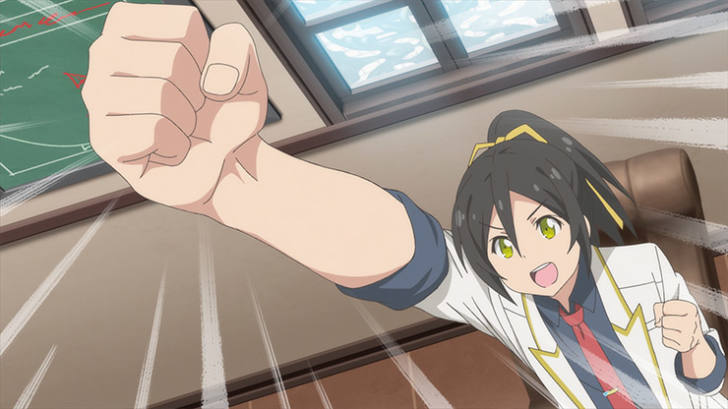 TVアニメ『社長、バトルの時間です!』第10話「企業戦士」【感想コラム】
