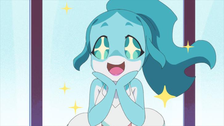 アニメ「BNA ビー・エヌ・エー」第4話『Dolphin Daydream』