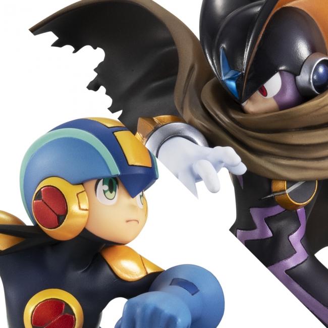 メガハウスからロックマンとフォルテの激闘シーンをイメージしたジオラマフィギュア登場!