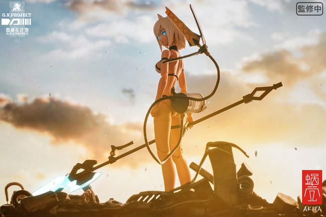 G.N.PROJECT第1.5弾『WOLF-001 水着素体・武装セット 完成品アクションフィギュア』が、あみあみ含む一部流通限定でご案内中!! 【アニメニュース】
