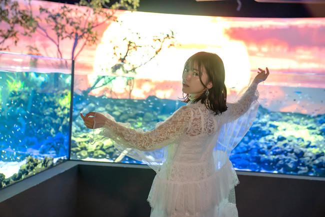 「石原夏織」×「カワスイ  川崎水族館」コラボビジュアル公開! 【アニメニュース】