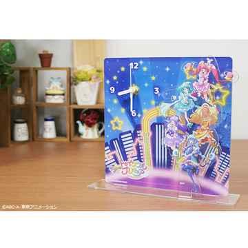 『スター☆トゥインクルプリキュア』『HUGっと!プリキュア』アクリル時計、「プリティピックアップフェア第1弾」グッズ登場!!