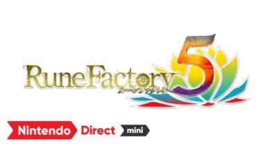 Nintendo Switchからディスガイア6、モンハン新作、ルーンファクトリー5など登場!Nintendo Direct mini ソフトメーカーラインナップ2020大公開!!