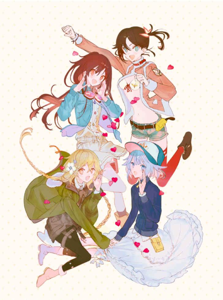 TVアニメ「ローリング☆ガールズ」Blu-ray BOXの詳細が発表!特典CDにはTHE BLUE HEARTS「夢」のカバーを収録!さらにメインキャラクター4人の<過去><現在><未来>を描いた3枚の描き下ろしも!