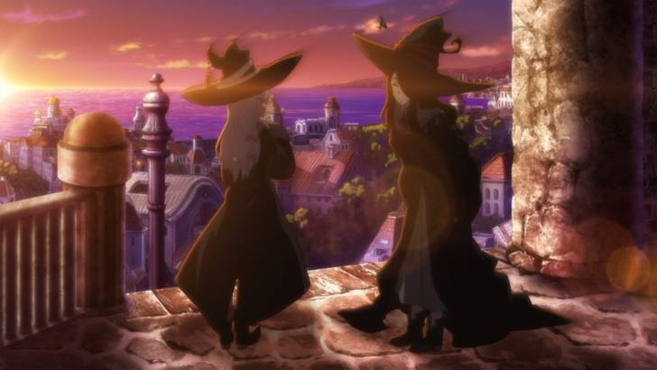 アニメ「魔女の旅々」第5話『王立セレステリア』