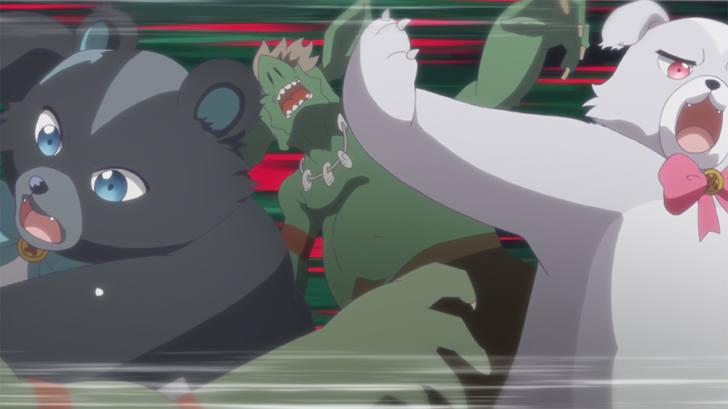 TVアニメ『くまクマ熊ベアー』第8話「クマさん、無双する」【感想コラム】
