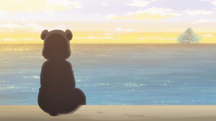 TVアニメ『くまクマ熊ベアー』第10話「クマさん、海へ行く」【感想コラム】