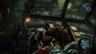 【PS4】『Darksiders Warmastered Edition』(ダークサイダーズ)を攻略してみた「空洞の車両編」