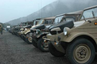 日本中のミリタリービーグル(軍用車両)が一同に集結!MVG2008 in 本栖湖ハイランド参加レポート
