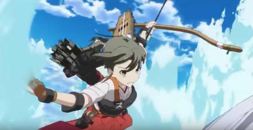 艦娘シリーズ!帝国海軍随一の幸運艦、5航戦 瑞鶴ちゃん 。実は 加賀さん と犬猿の仲!その理由は?