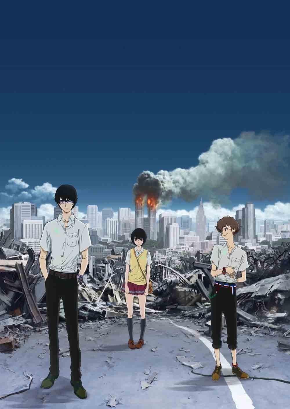 日本でもこんなテロがあったら…と考えてしまうアニメ『 残響のテロル 』